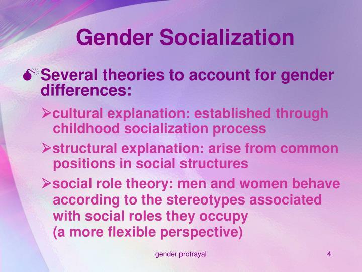 Gender Socialization