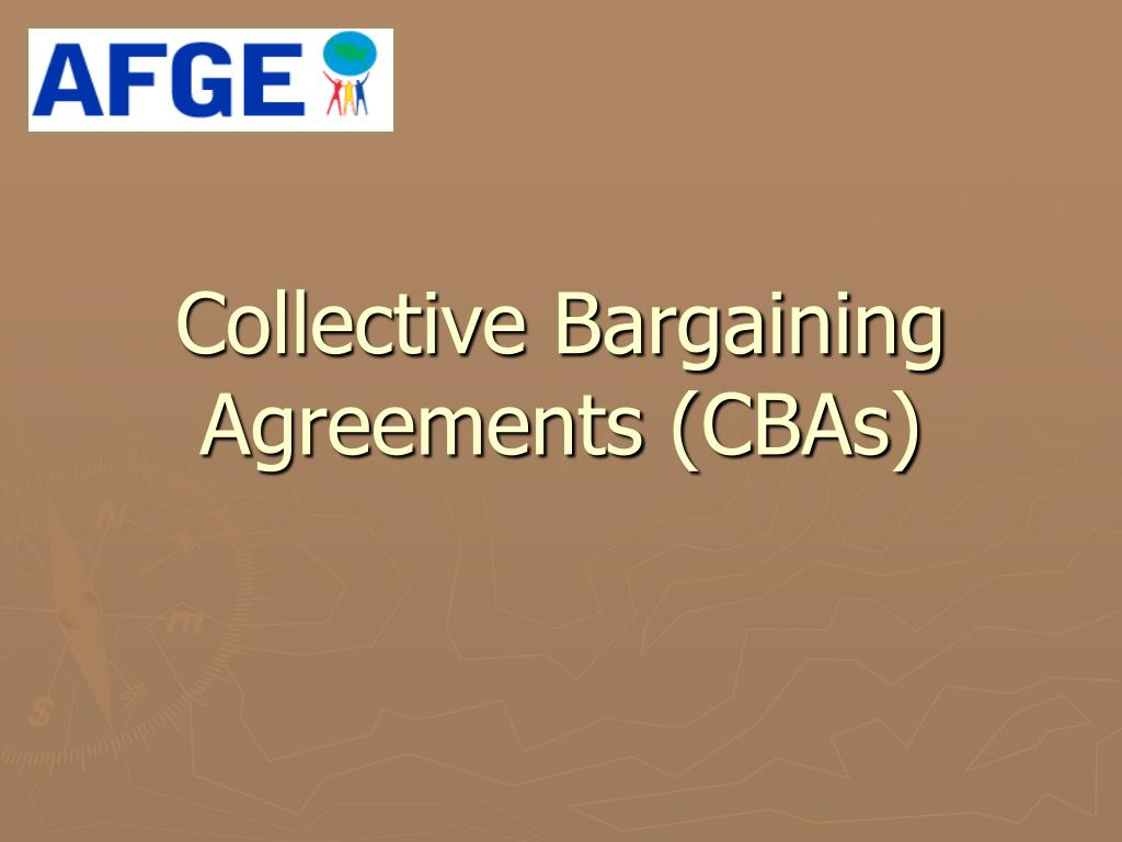 Collective Bargaining Agreements (CBAs)