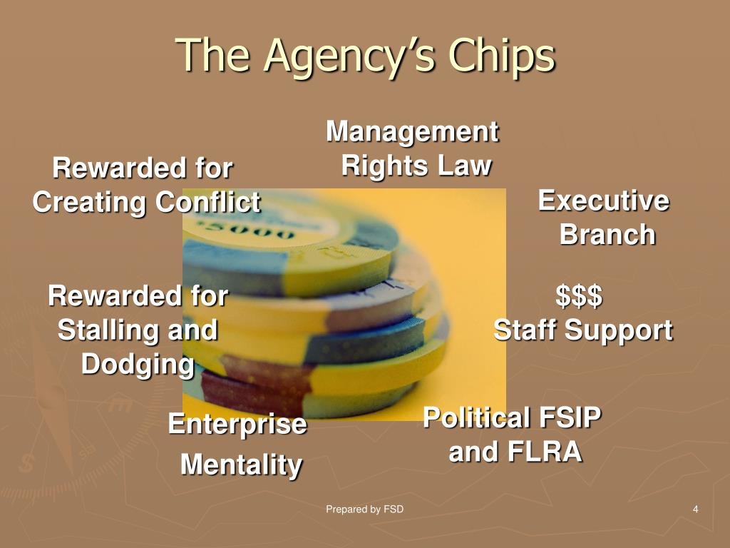 The Agency's Chips