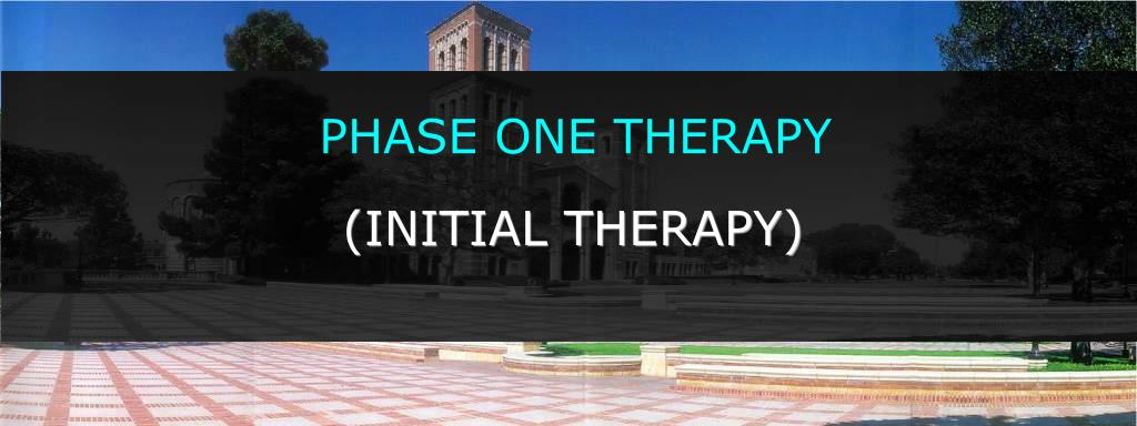 PHASE ONE THERAPY