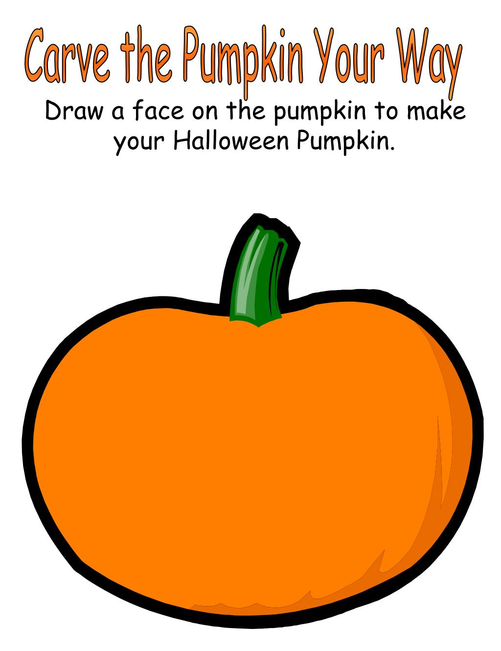 Carve the Pumpkin Your Way