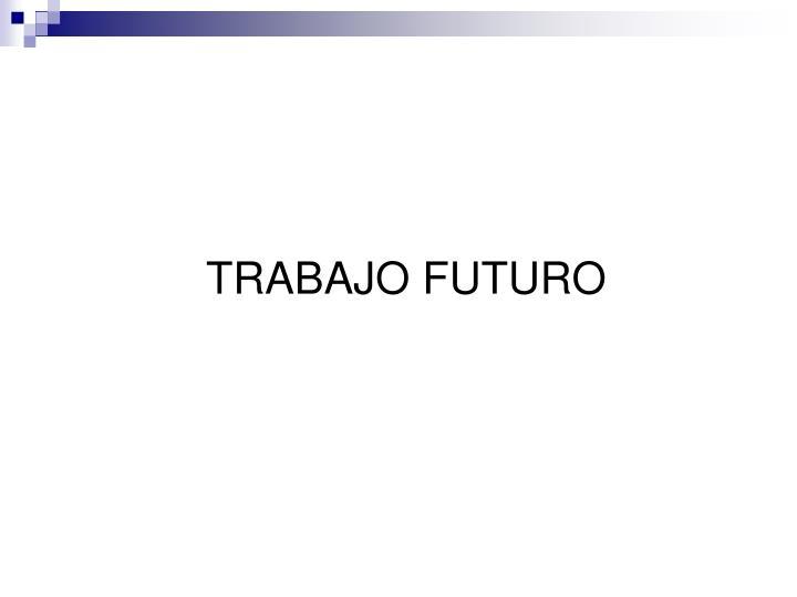 TRABAJO FUTURO