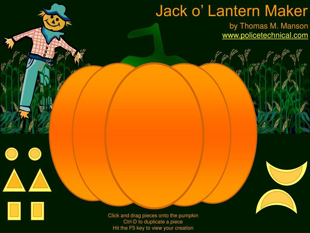 Jack o' Lantern Maker