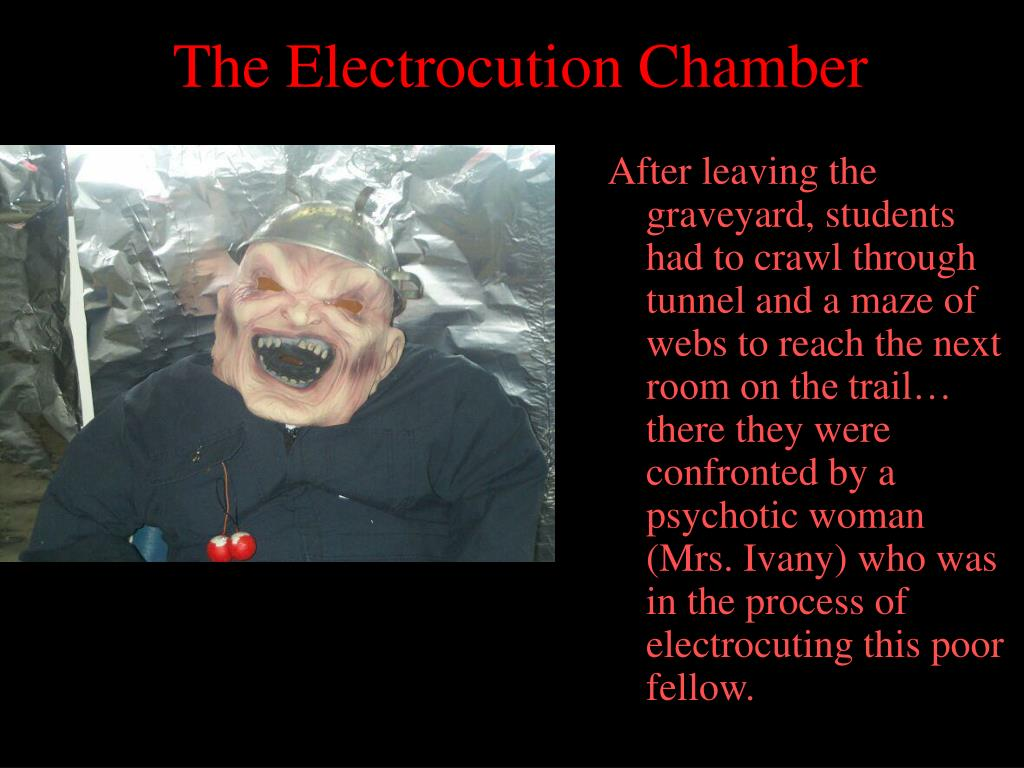 The Electrocution Chamber