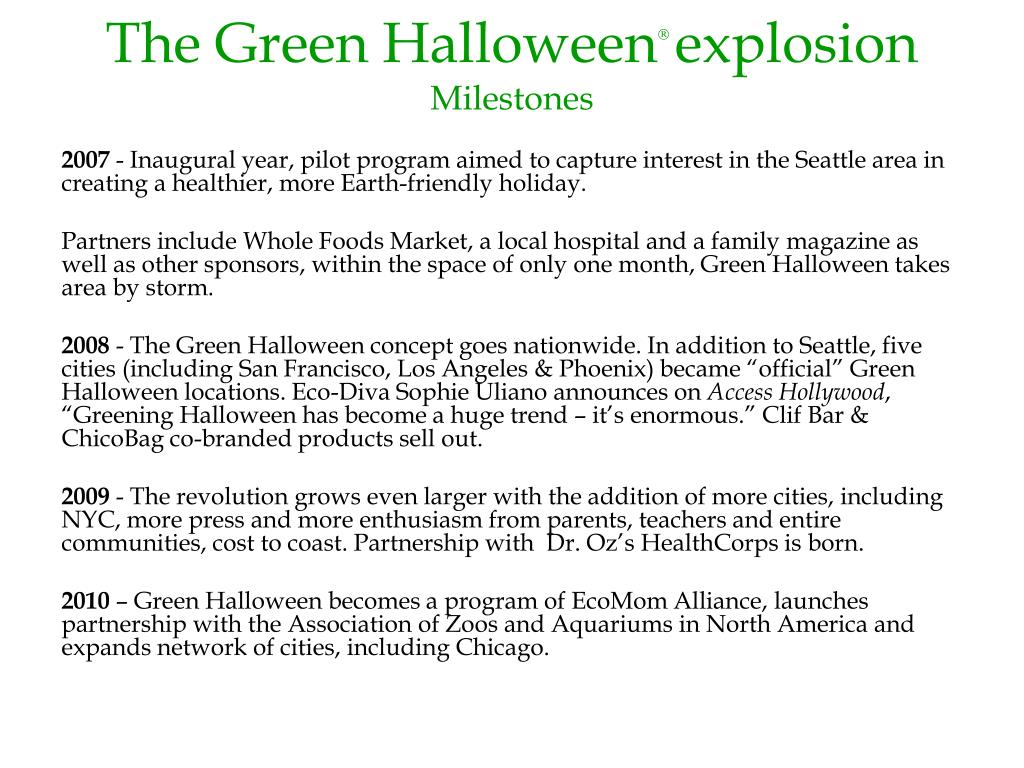 The Green Halloween
