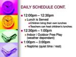 daily schedule cont5