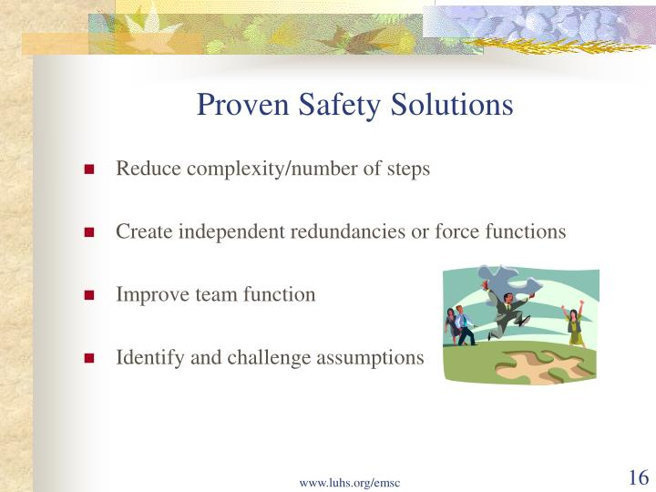 Proven Safety Solutions