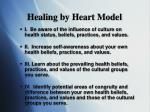 healing by heart model