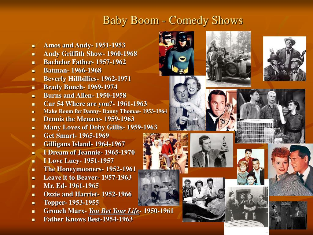 Baby Boom - Comedy Shows