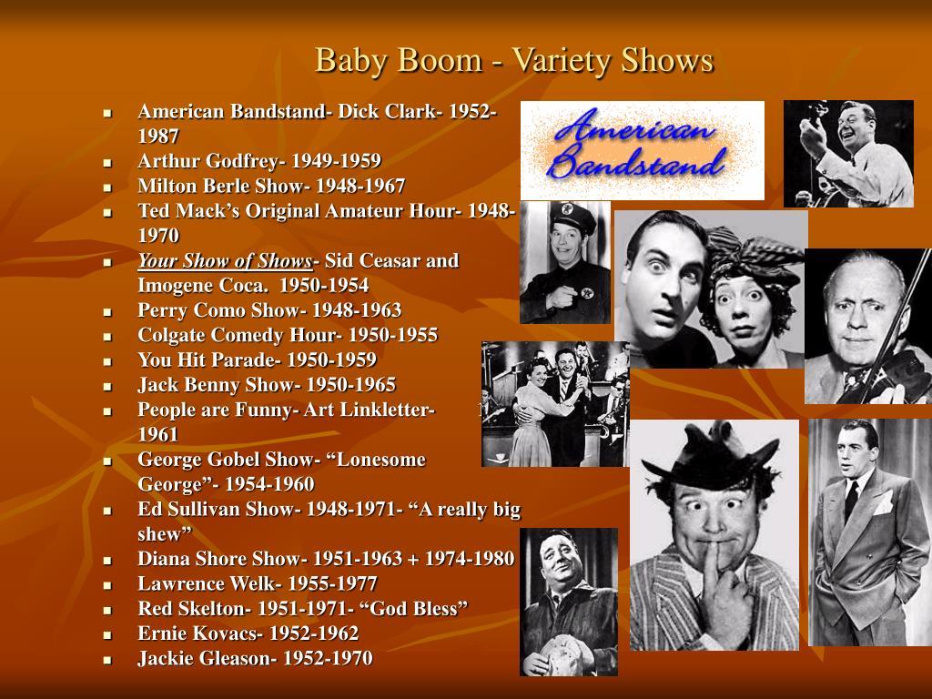 Baby Boom - Variety Shows