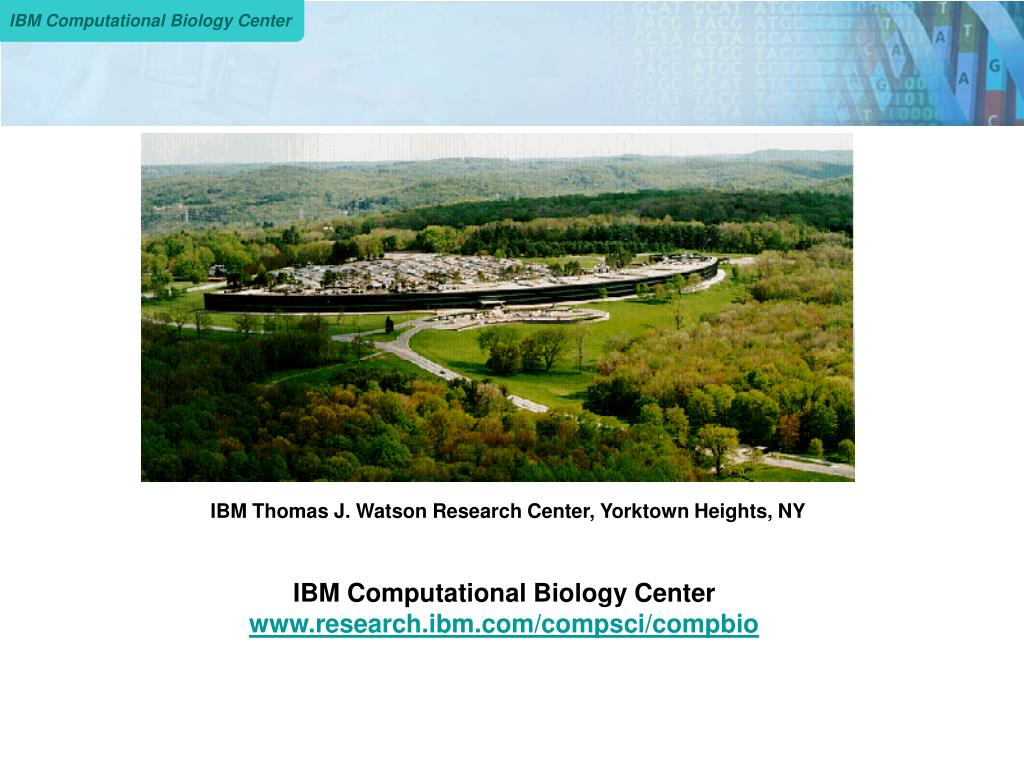 IBM Thomas J. Watson Research Center, Yorktown Heights, NY