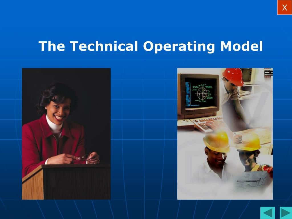 The Technical Operating Model