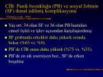 c b panik bozuklu u pb ve sosyal fobinin sf ihmal edilmi komplikasyonu figueira ve ark 2001