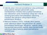 holland andaian 3