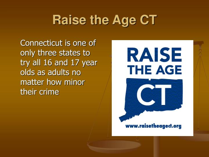 Raise the Age CT
