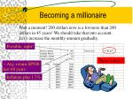 becoming a millionaire1