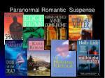 paranormal romantic suspense
