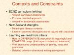 contexts and constraints37