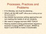 processes practices and problems