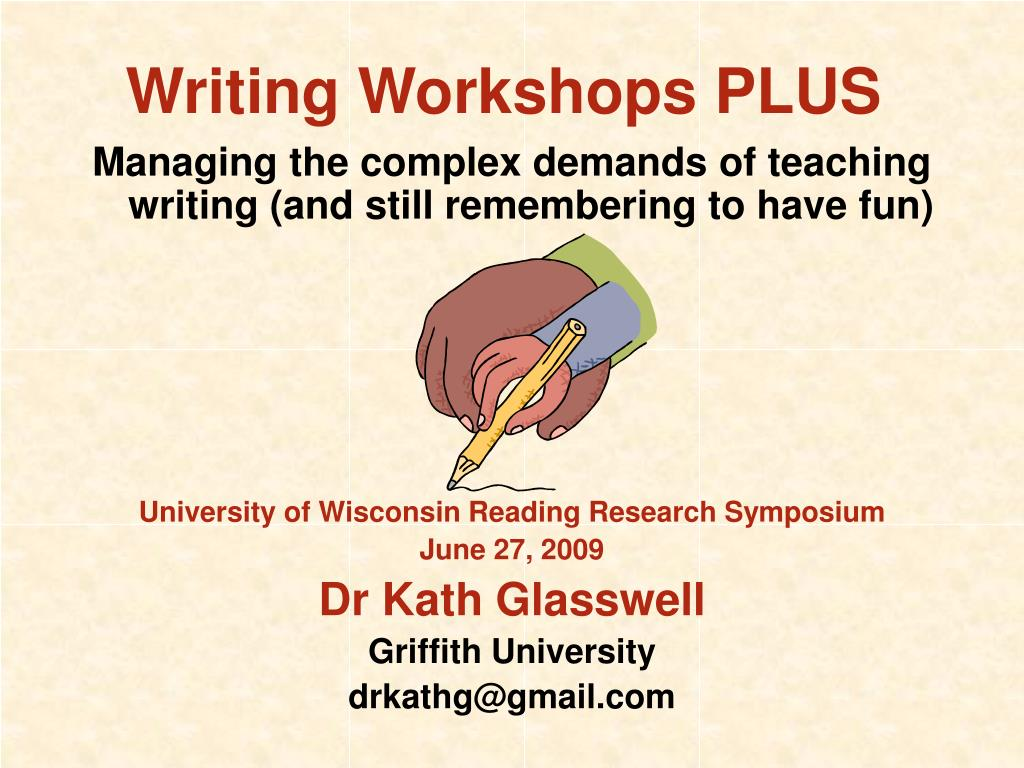 writing workshops plus l.