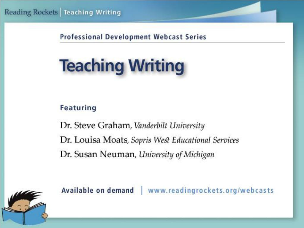 teaching writing l.