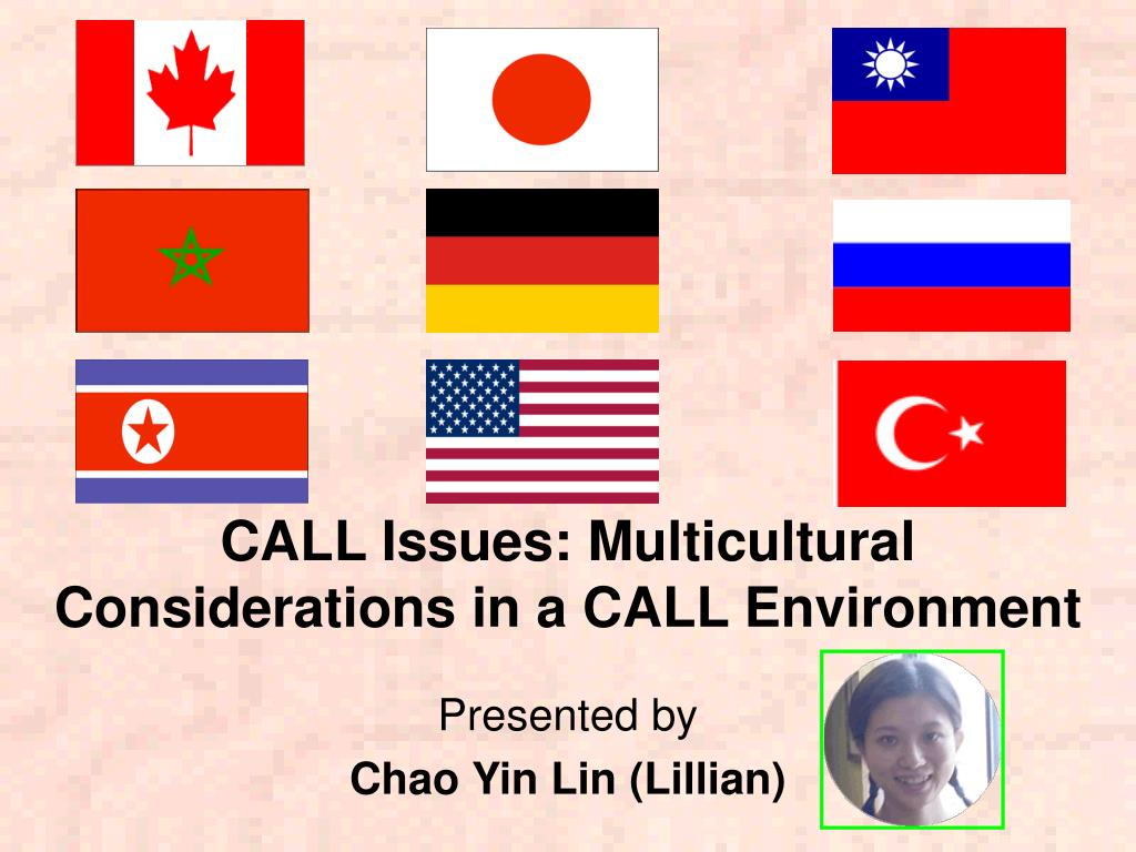 CALL Issues: Multicultural Considerations in a CALL Environment