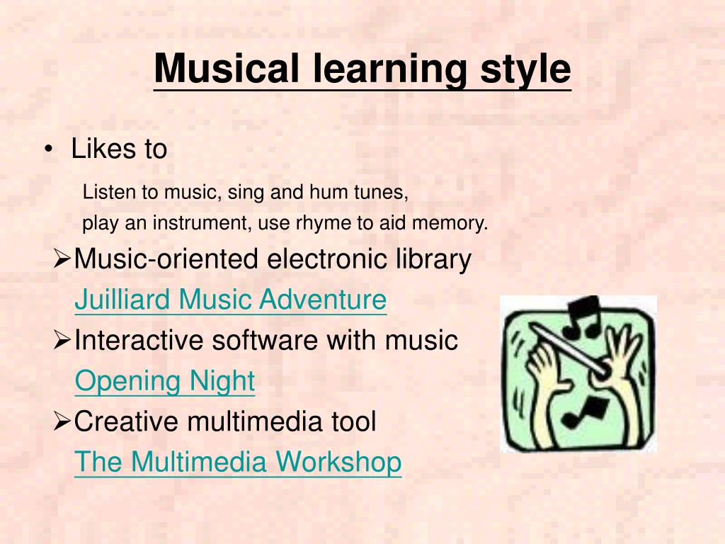 Musical learning style