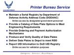 printer bureau service