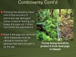 controversy cont d