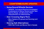 countermeasure updates