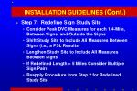installation guidelines cont35