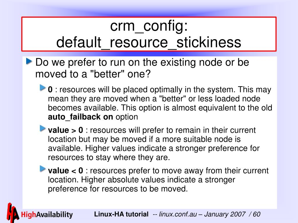 crm_config: default_resource_stickiness