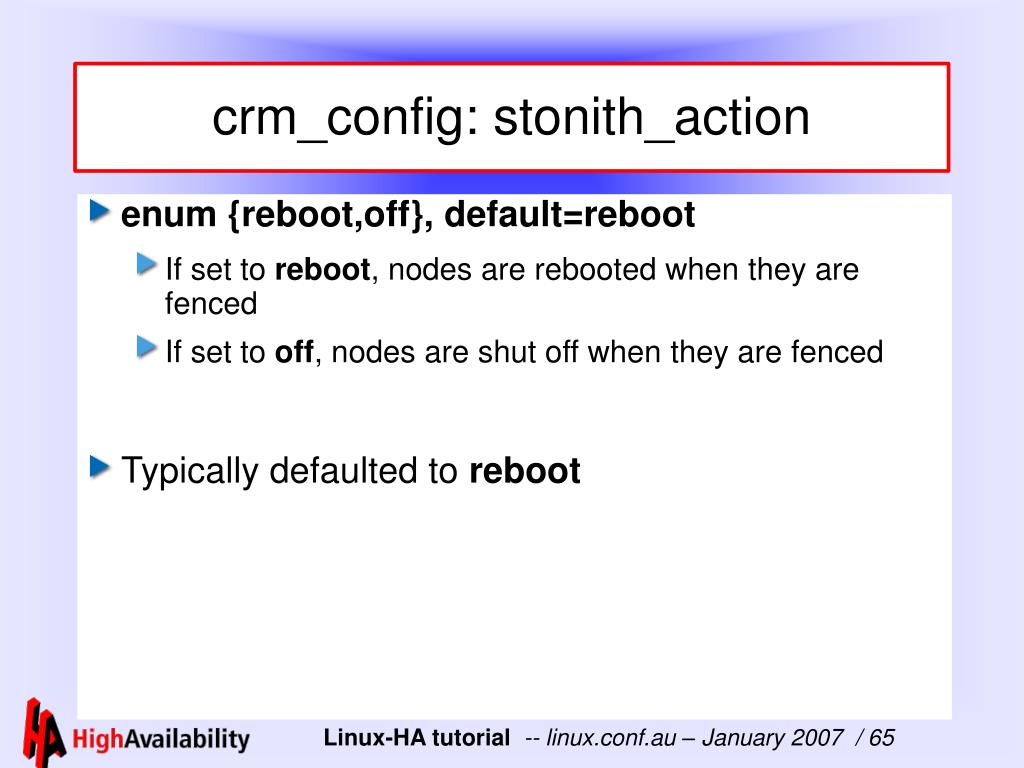 crm_config: stonith_action