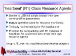 heartbeat r1 class resource agents