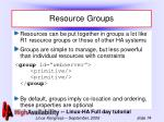 resource groups74