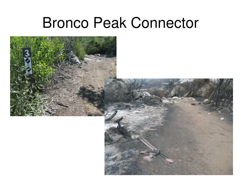 Bronco Peak Connector