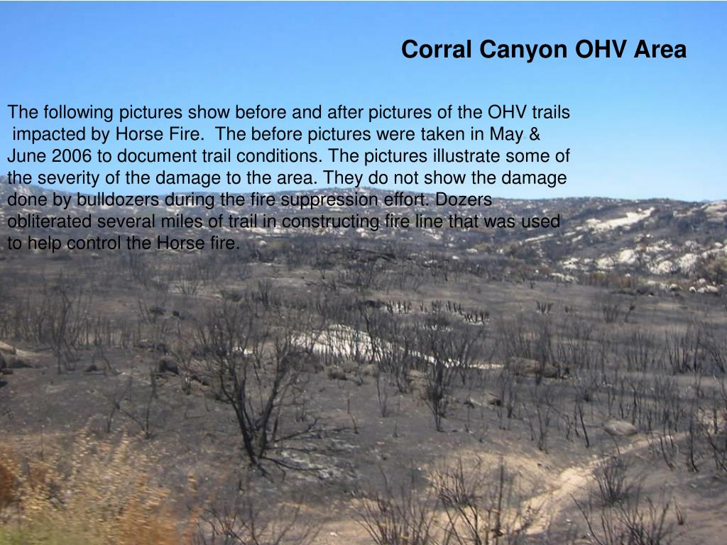 Corral Canyon OHV Area