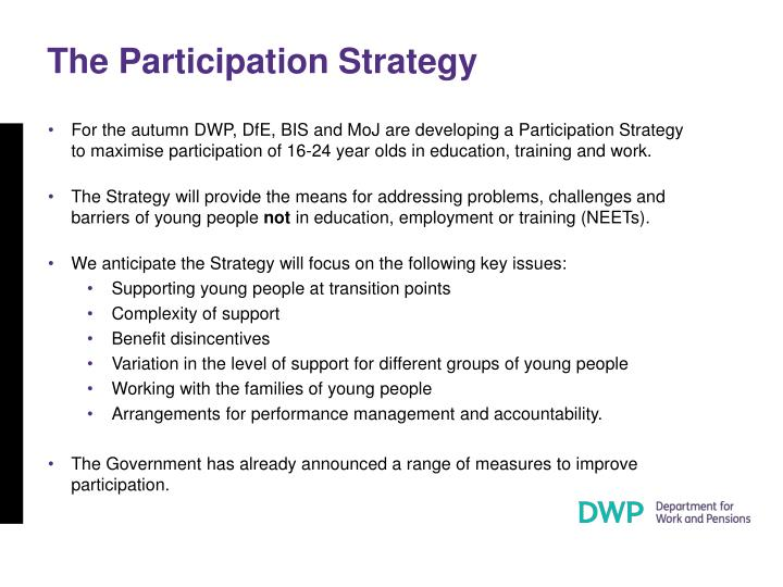 The Participation Strategy