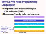 why do we need programming languages5