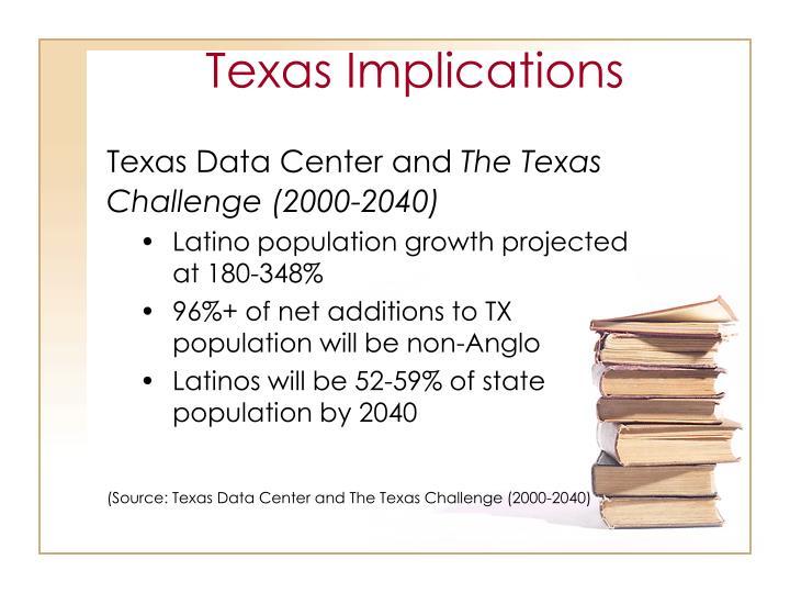 Texas Implications