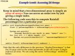 example cont accessing 2d arrays1