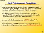 null pointers and exceptions1