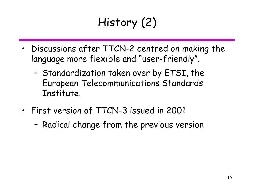 History (2)