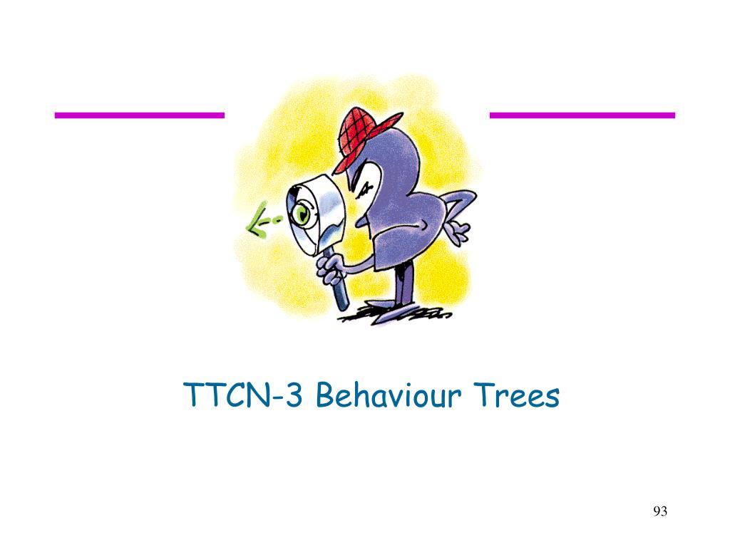 TTCN-3 Behaviour Trees