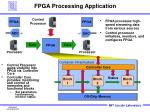 fpga processing application