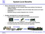 system level benefits