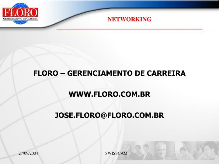 FLORO – GERENCIAMENTO DE CARREIRA