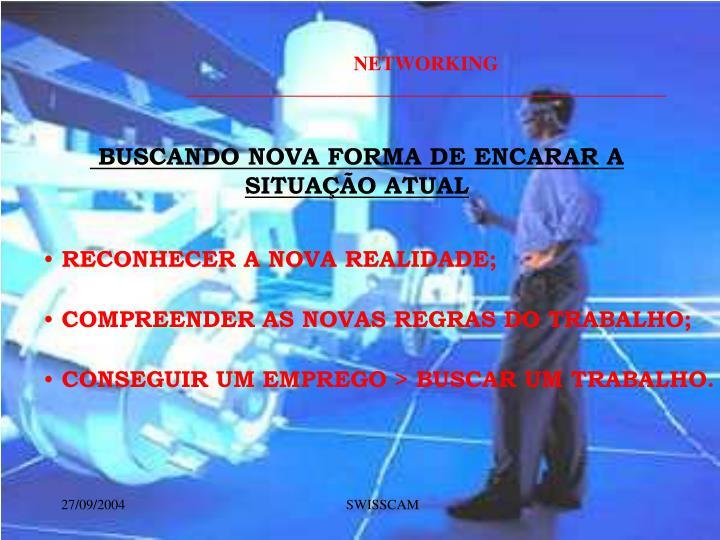 BUSCANDO NOVA FORMA DE ENCARAR A SITUAÇÃO ATUAL