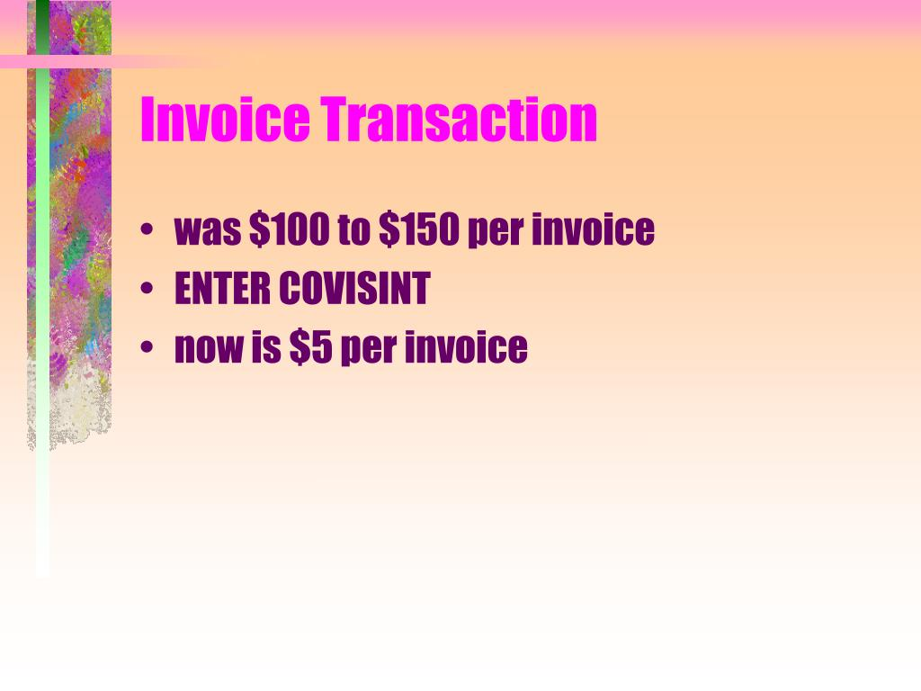 Invoice Transaction