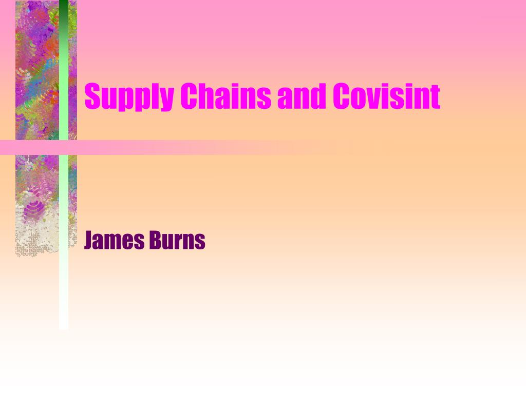 supply chains and covisint l.